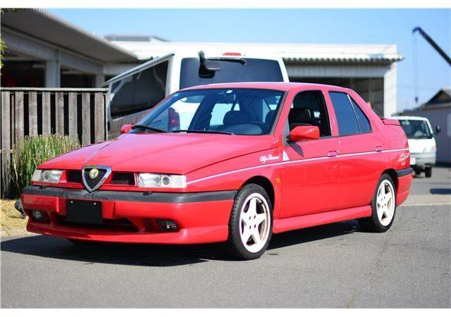 SOLD OUT アルファロメオ155 V6リミテッドバージョン限定車